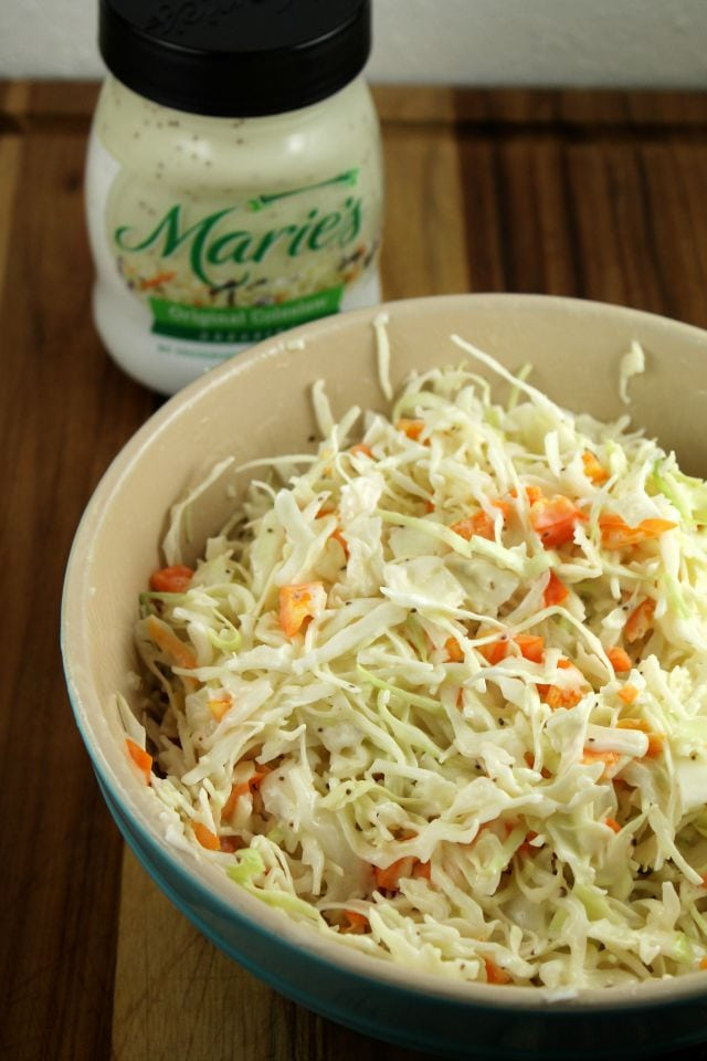 Quick Sweet Pepper Slaw Recipe from Miss in the Kitchen