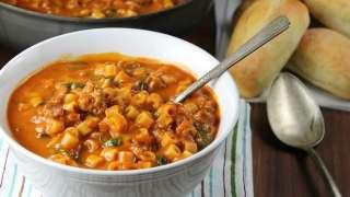 Italian Sausage Pasta Soup