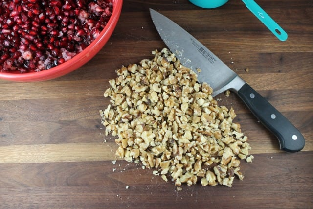 Chopped Walnuts for Cranberry Salad