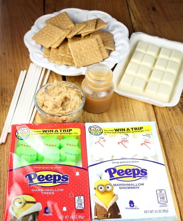 Ingredients for Peeps White Chocolate Cookie Sandwiches Recipe from missinthekitchen