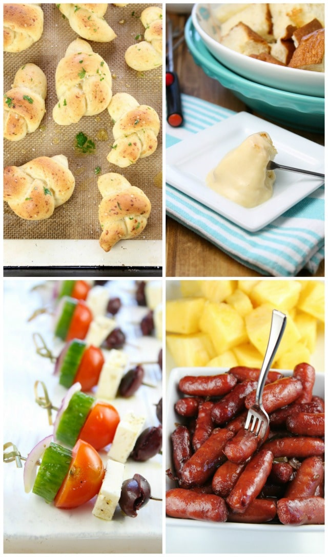 Ultimate Holiday Party Appetizers from Miss in the Kitchen