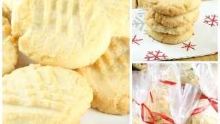 Citrus Butter Cookies