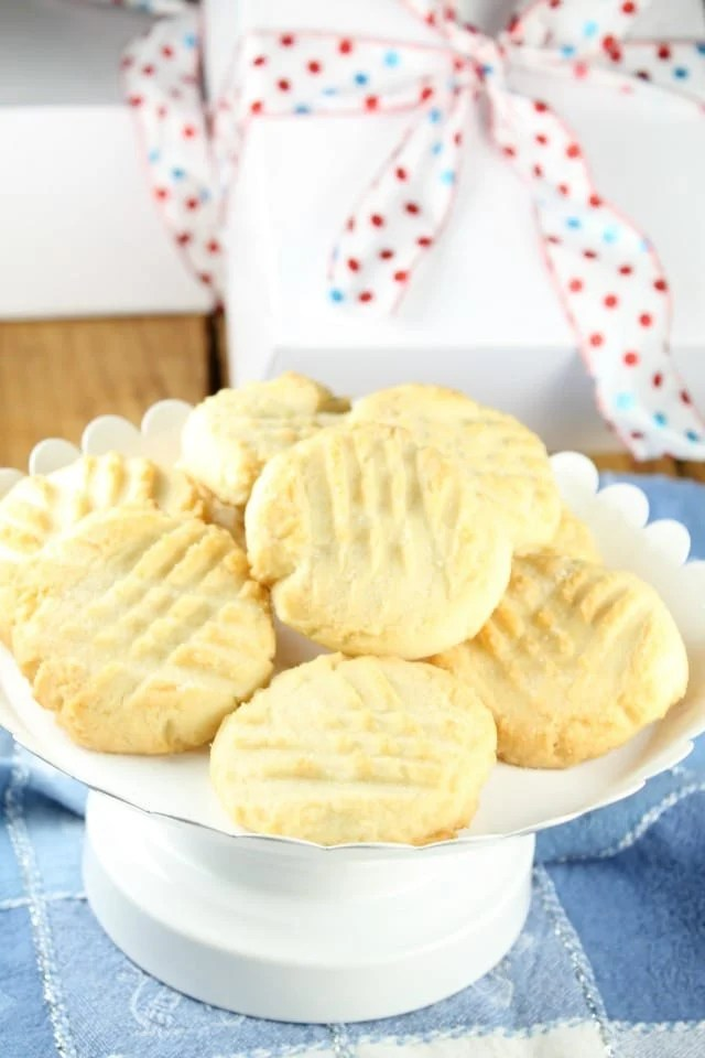 Recipe for Citrus Butter Cookies for The Great Food Blogger Cookie Swap from Miss in the Kitchen