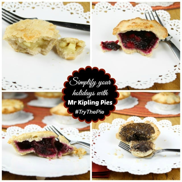 Simplify your holidays with Mr Kipling Pies from Miss in the Kitchen #TryThePie #Sponsored