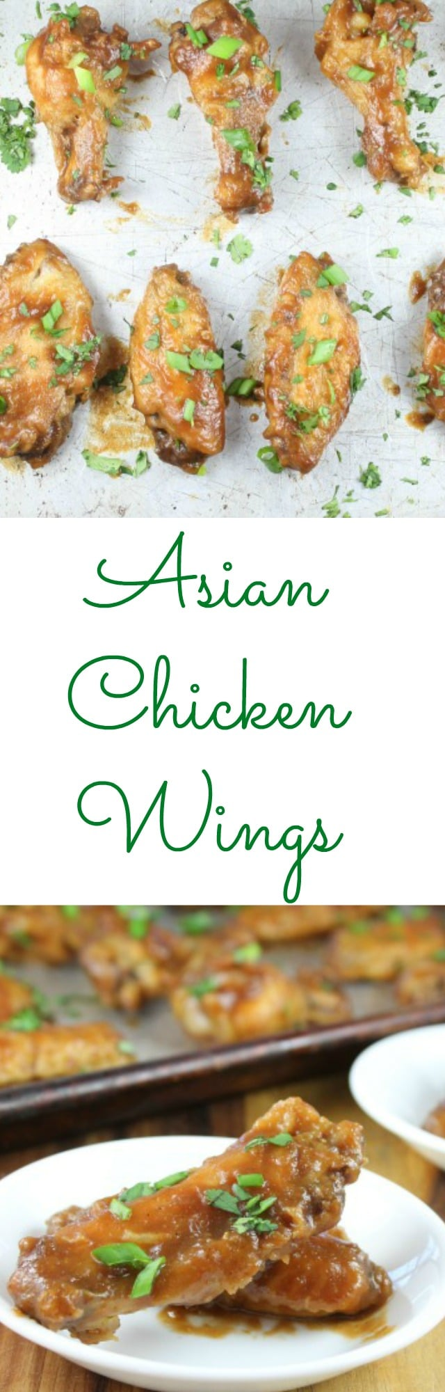 Asian Chicken Wings Recipe ~ The perfect game day appetizer! Found at MissintheKitchen.com