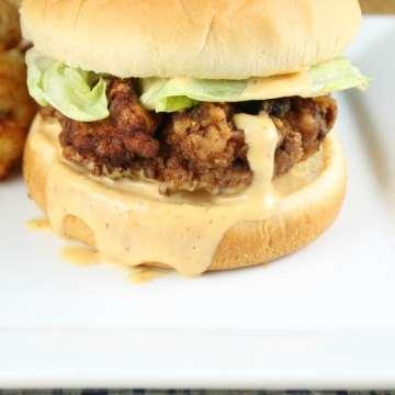 Chicken Fried Steak Sandwiches Recipe ~ MissintheKitchen.com