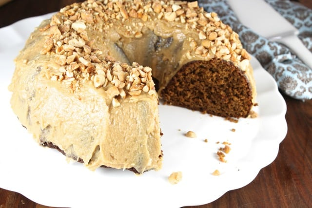 Apple Butter Bundt Cake Recipe from Miss in the Kitchen