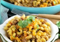 Zesty Taco Pasta Bake Recipe from MissintheKitchen