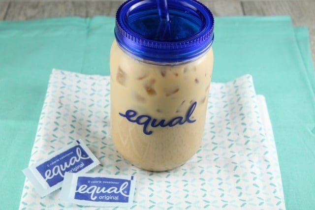 Vanilla Bean Iced Coffee ~ Miss in the Kitchen ~ Equal
