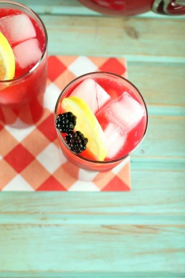 Blackberry Lemonade Recipe | Miss in the Kitchen