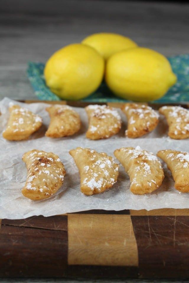 Fried Lemon Hand Pies Recipe from MissintheKitchen.com