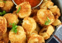 Fried Tortellini Recipe from Miss in the Kitchen