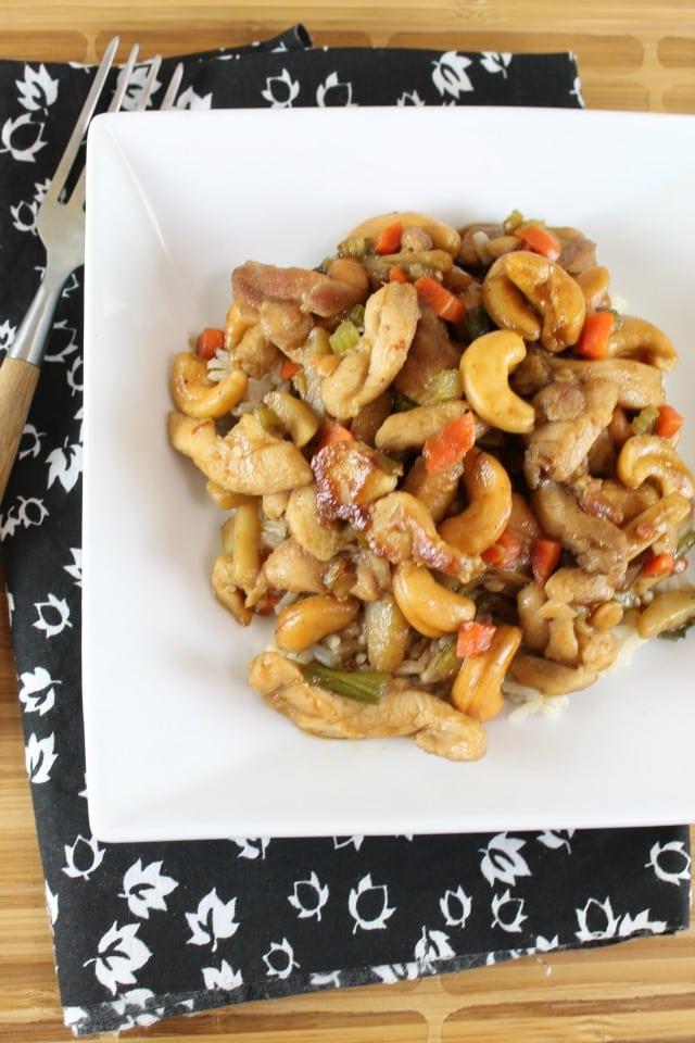 Kung Pao Chicken Recipe | MissintheKitchen #TeamFarberware #MyFamilyCooks #ad