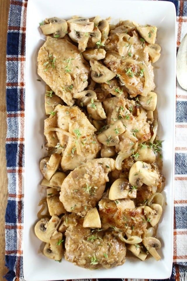 Creamy Balsamic Chicken Skillet Recipe | MissintheKitchen.com