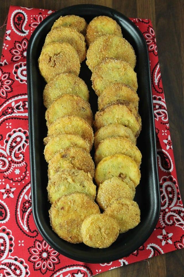 Fried Squash Recipe ~ MissintheKitchen