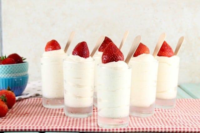 No Bake Vanilla Bean Cheesecake Recipe   MissintheKitchen.com