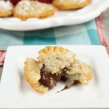 Fried Nutella Hand Pies Recipe from MissintheKitchen