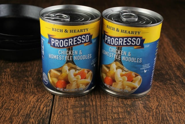 Progressive Chicken & Homestyle Noodles Soup #ad