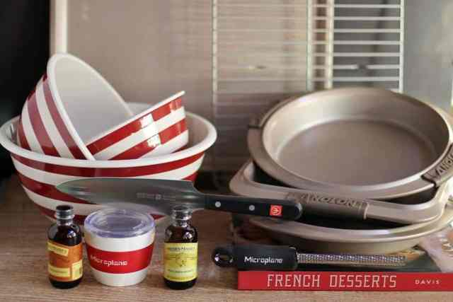 Giveaway Set from French Desserts by Hillary Davis ~ MissintheKitchen.com