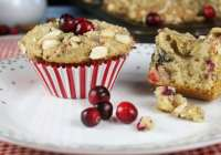 Cranberry Almond Muffins