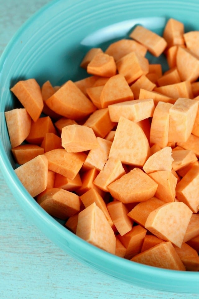 Sweet Potatoes for Sheet Pan Dinner