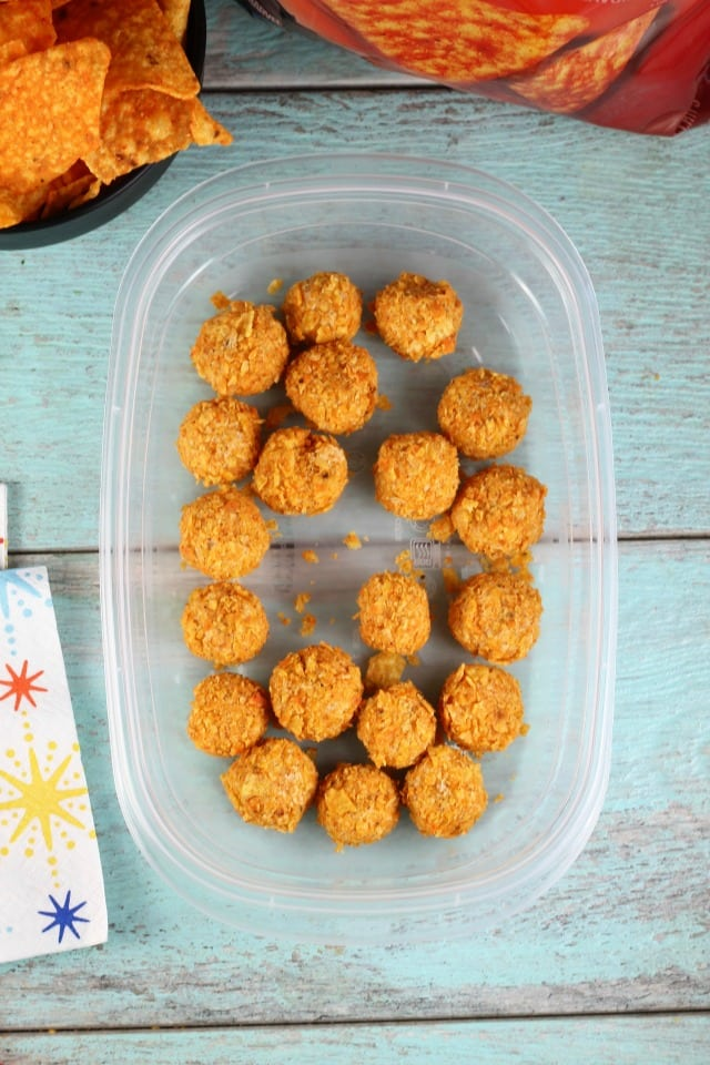 Mini Doritos Cheese Balls