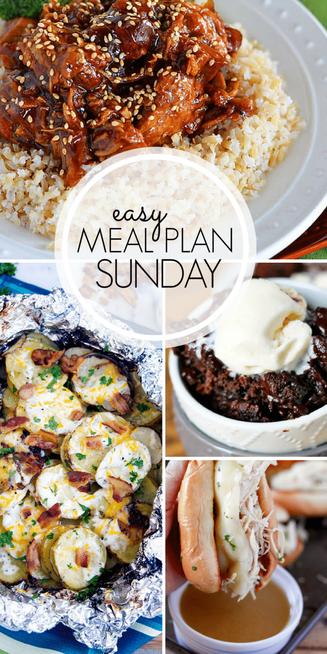 Easy Meal Plan Sunday {Week 99} Delicious ideas to make meal planning easy this week! MissintheKitchen.com