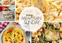 Easy Meal Plan Sunday {Week 103}