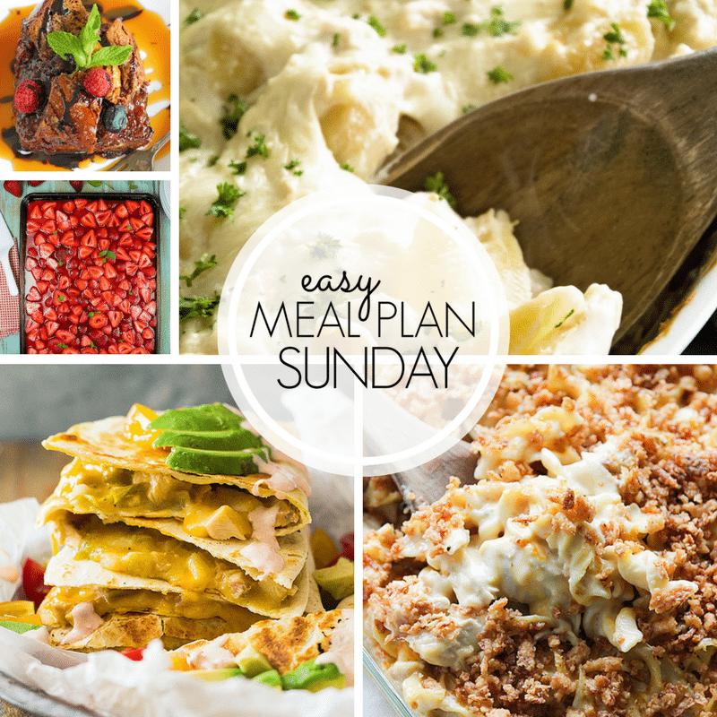 Easy Meal Plan Sunday ~ Week 104 ~ MissintheKitchen.com