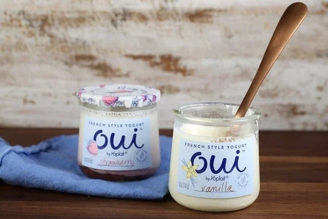 French Style Yogurt ~ Oui by Yoplait ~ MissintheKitchen.com #ad
