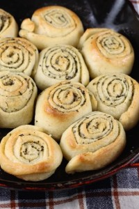 Quick Butter & Herb Rolls Recipe ~ the perfect addition to any meal. From MissintheKitchen.com #ad With @Walmart & @Progresso