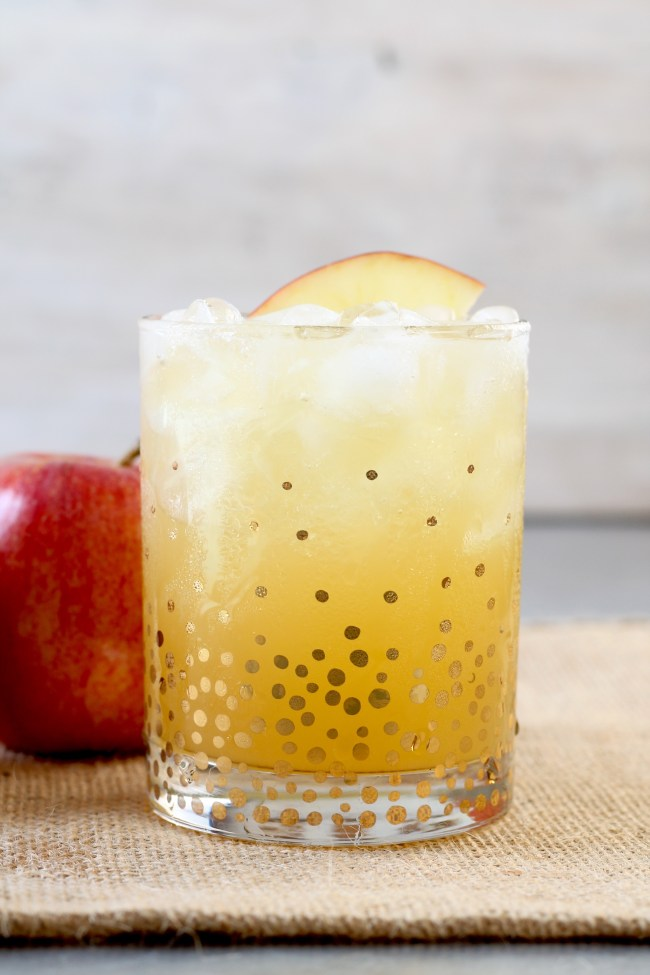 Easy Fall Party Punch with apple cider