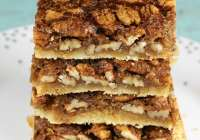 Brown Sugar Pecan Pie Bars