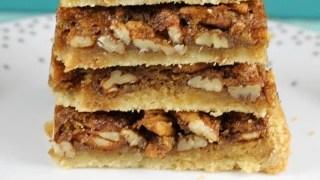 Brown Sugar Pecan Pie Bars