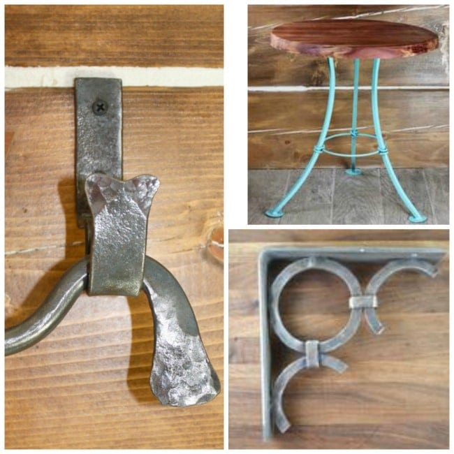 Red River Iron Fine Furnishings ~ Drapery Rods, Tables, and More
