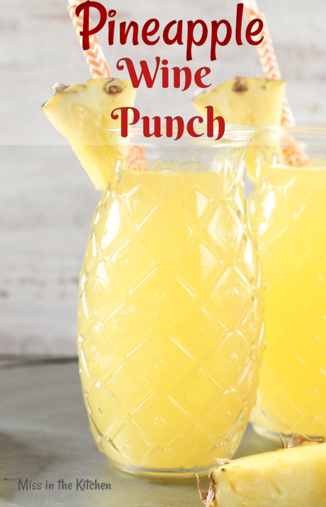 Pineapple Wine Punch