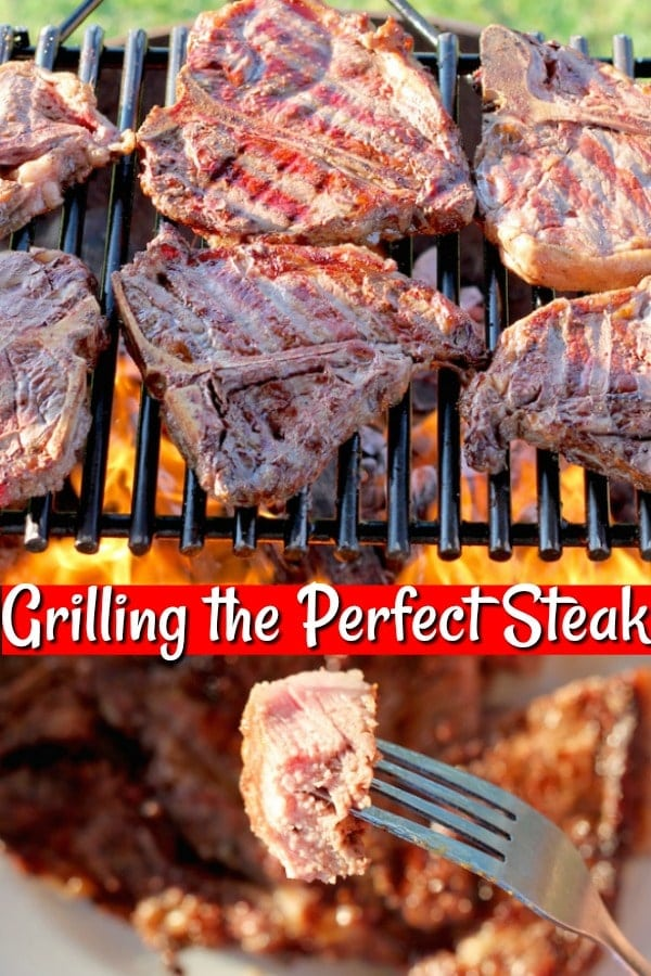 Grilling the Perfect Steak recipe, tips and tools