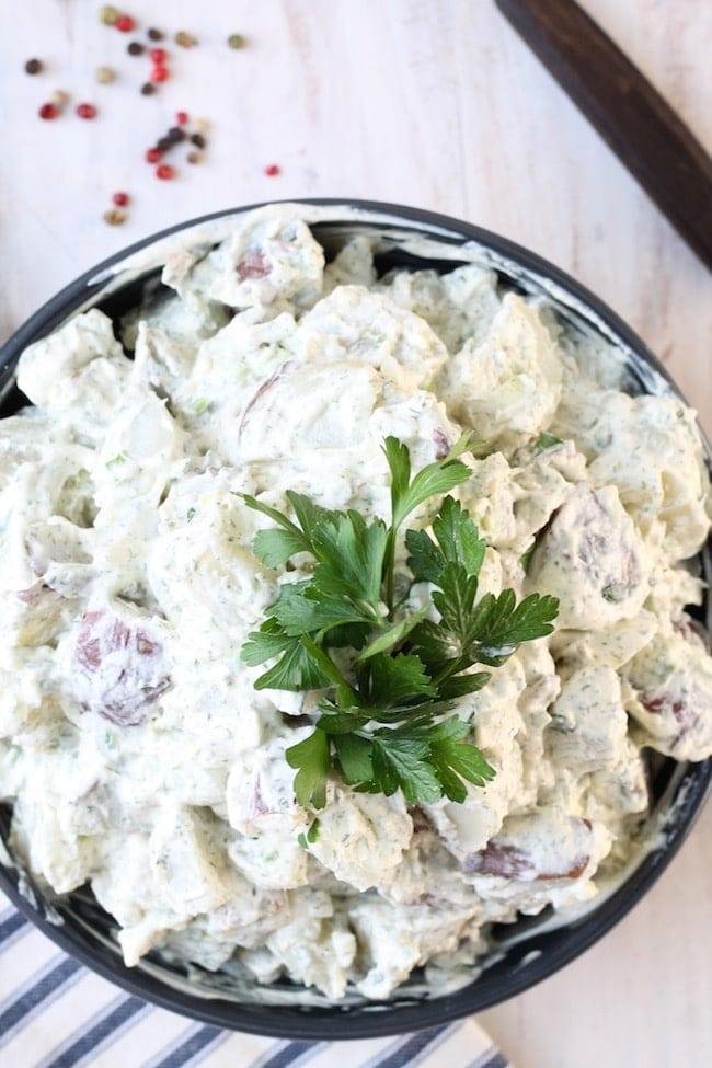 Creamy Dill Potato Salad Recipe