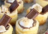 Easy recipe for Mini S'mores Cheesecakes