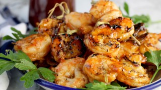 Easy Barbecue Grilled Shrimp