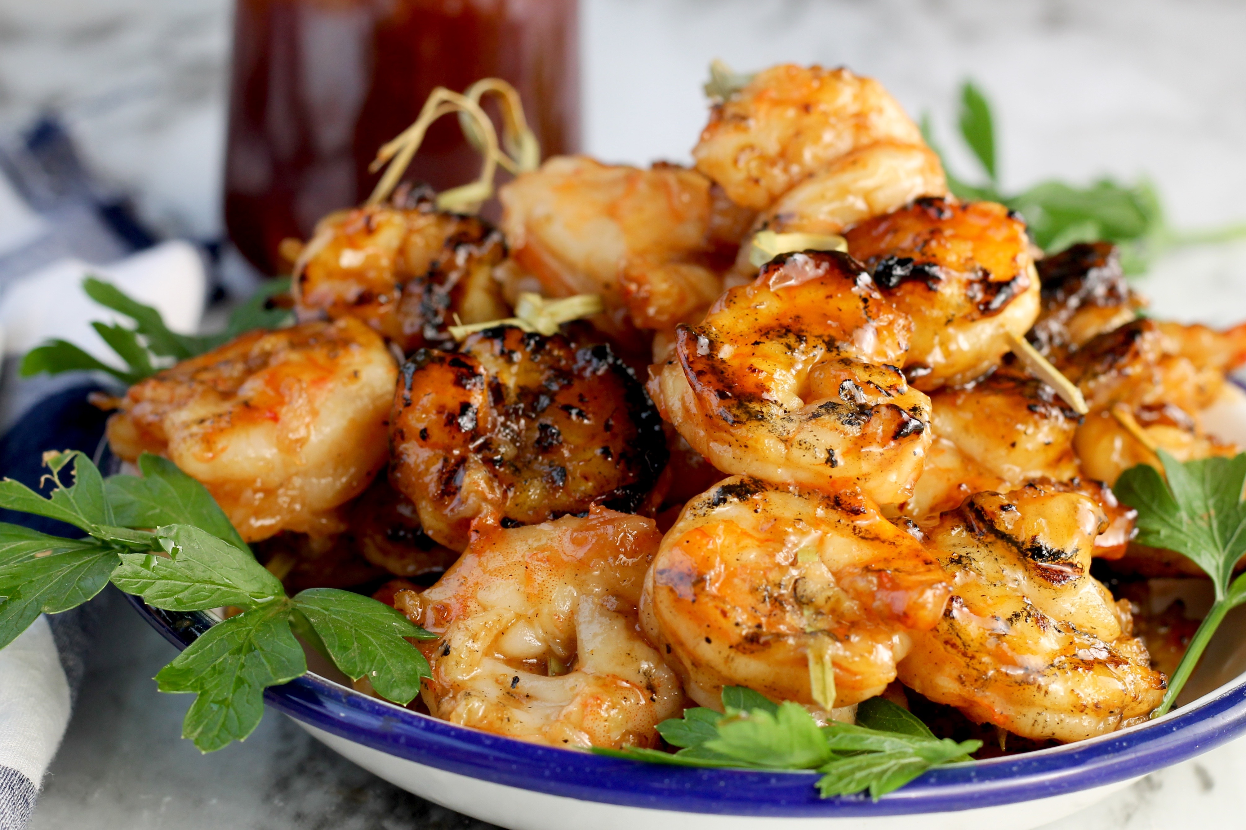 How to Make Barbecue Grilled Shrimp