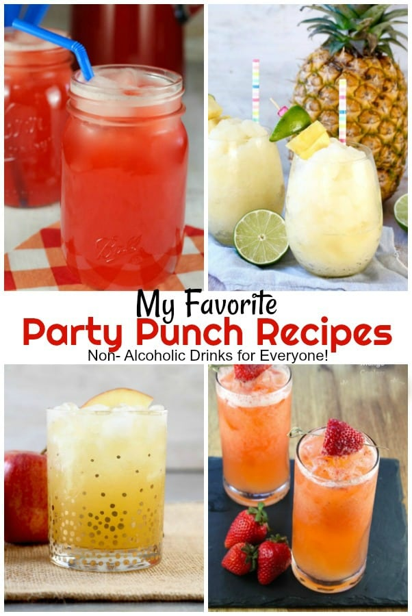 My Favorite Party Punch Recipes