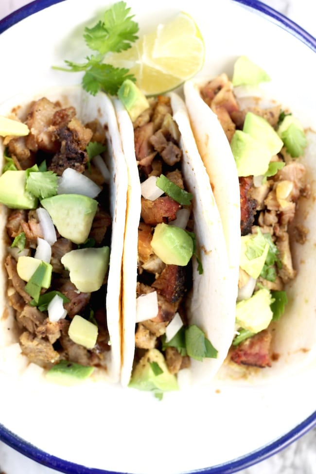 Easy Smoked Pork Carnitas Tacos
