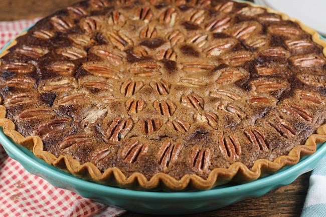 Baked Pumpkin Pecan Pie
