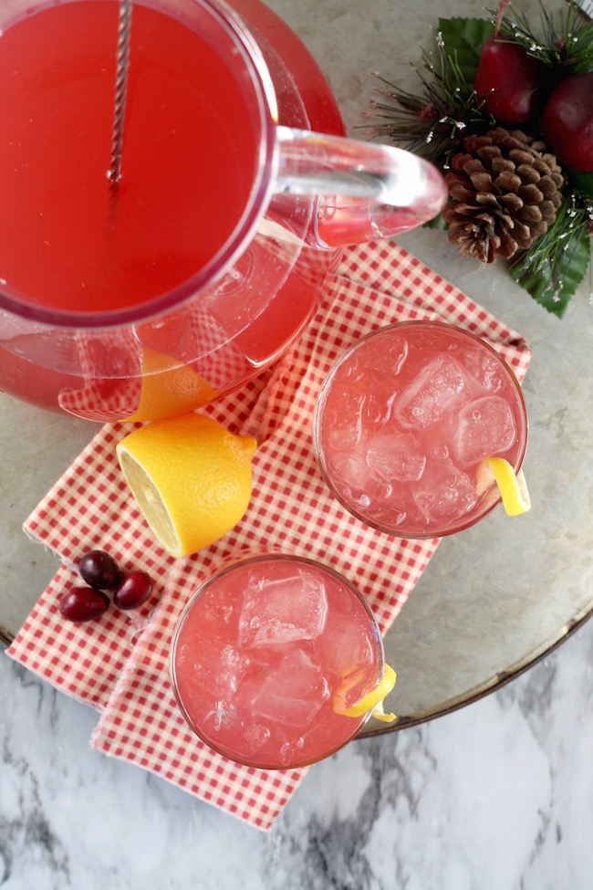 How to make Cosmopolitan Cocktail Party Punch