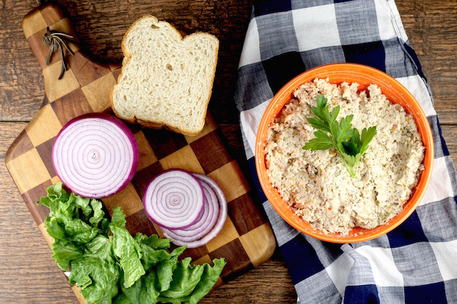 The Best Turkey Salad made with Thanksgiving leftovers