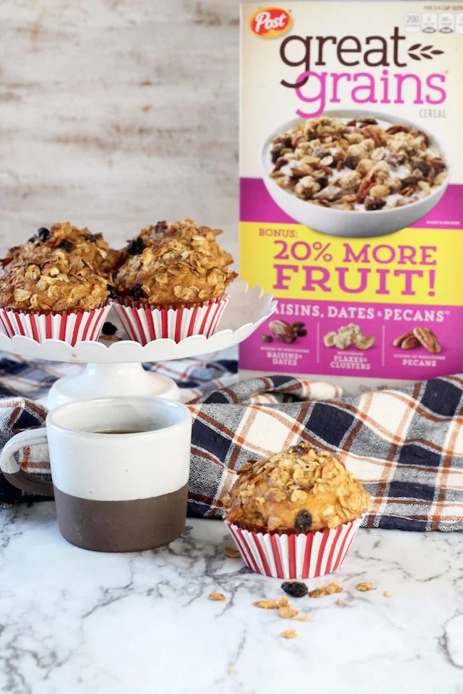 Breakfast Muffins with coffee