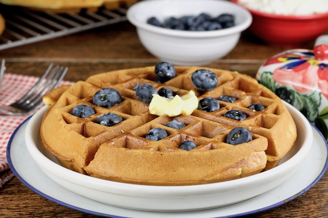 How to make belgian waffles with complete pancake mix