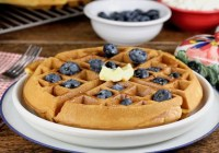 Easy Belgian Waffles Recipe