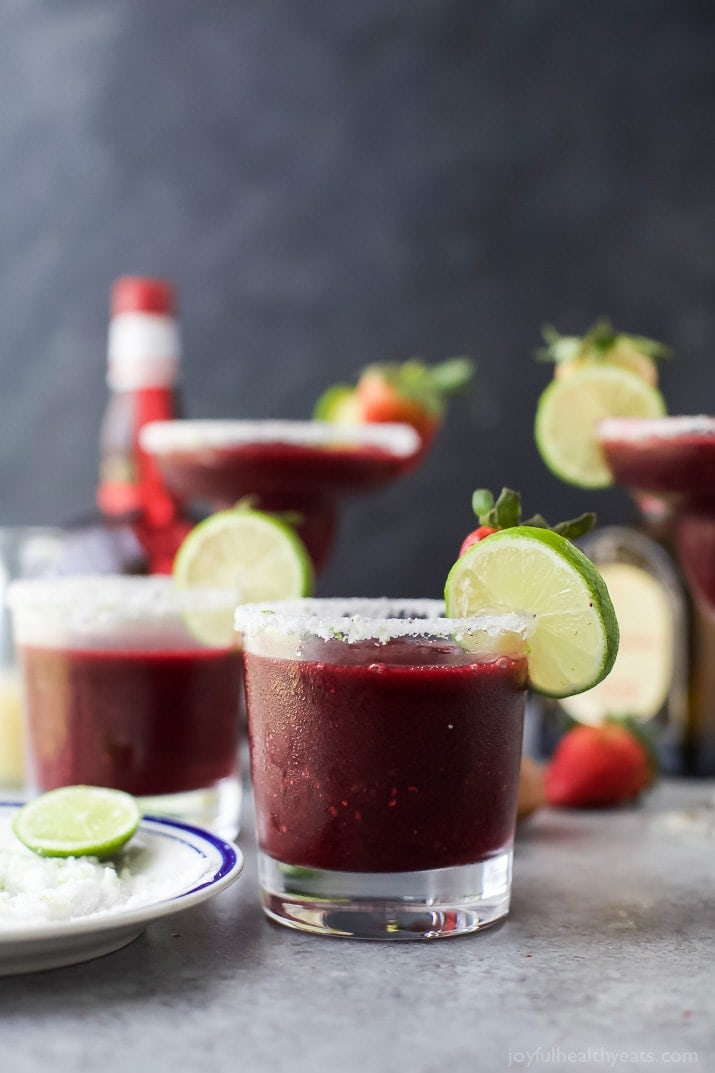 Mixed Berry Frozen Margaritas